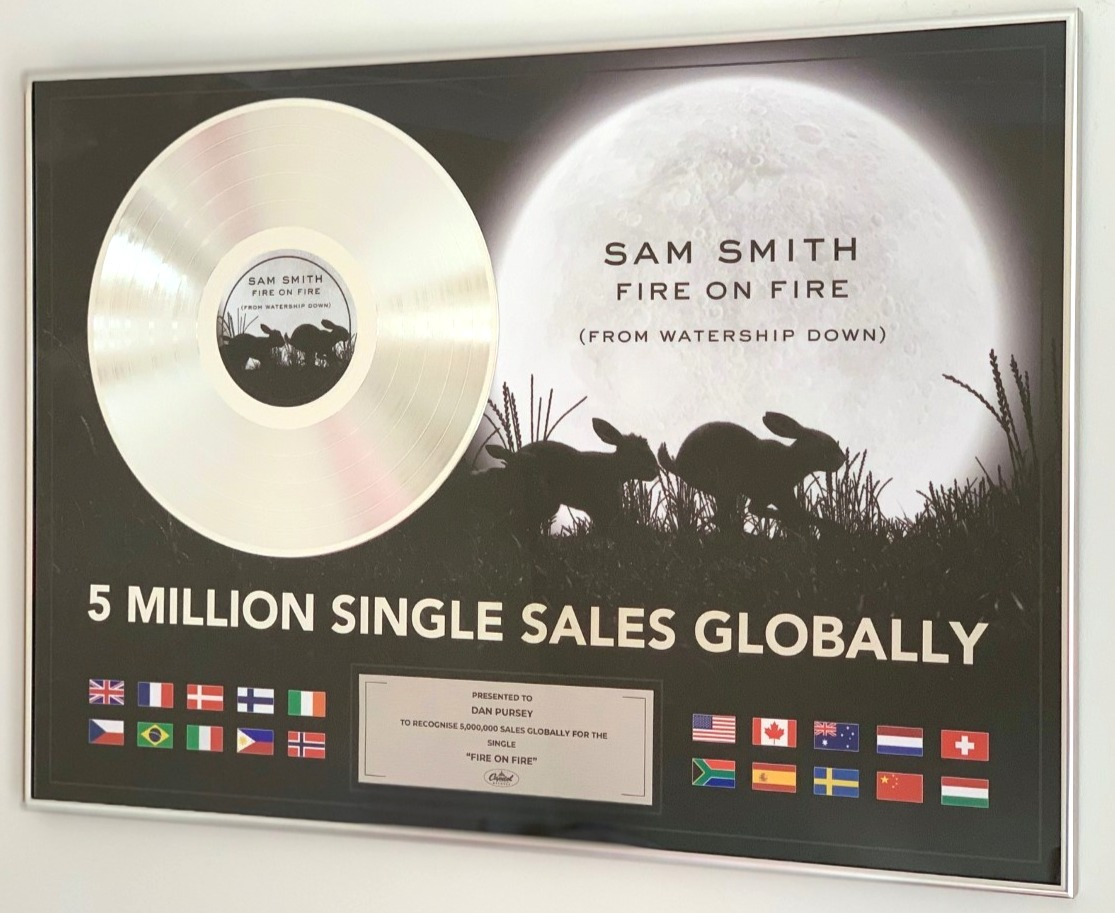 Sam Smith FOF 500x700mm