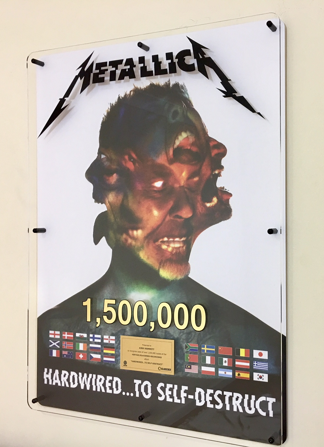 Metallica 600x800mm Acrylic