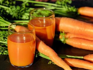 Ventajas de tomar jugo de zanahoria