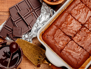 Pastel de Chocolate con Café