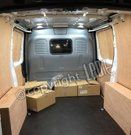 Transit custom LED kit