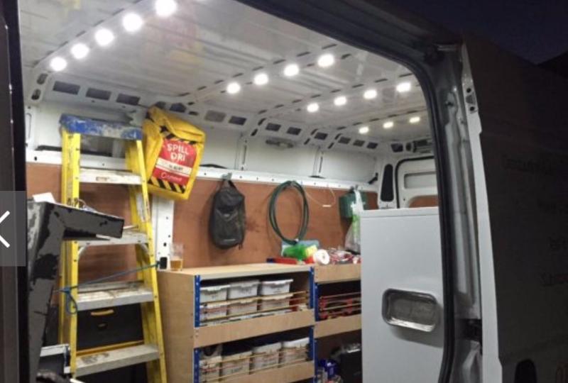 LED van lights