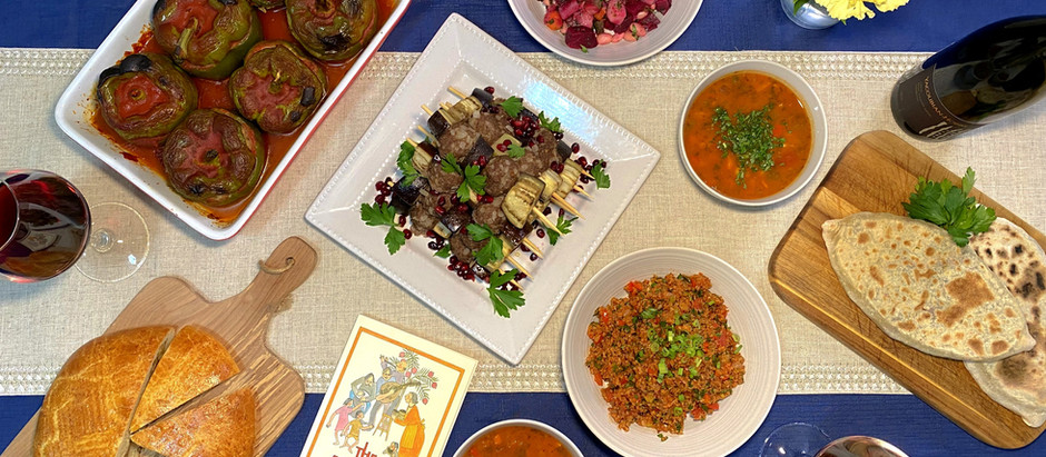Dinner in Yerevan