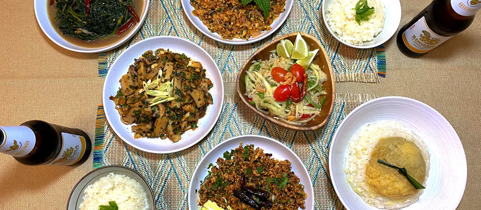 Dinner in Isaan