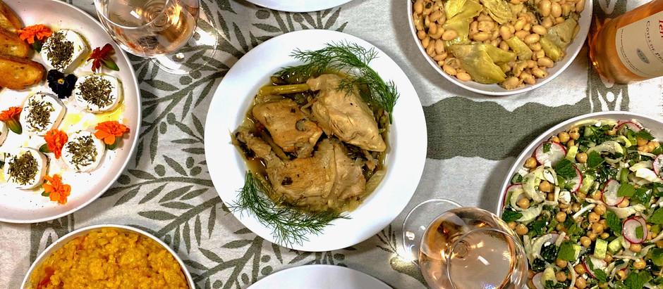 4.27.2021 Dinner in Provence