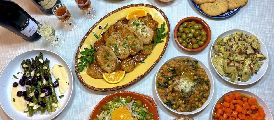 Dinner in Seville