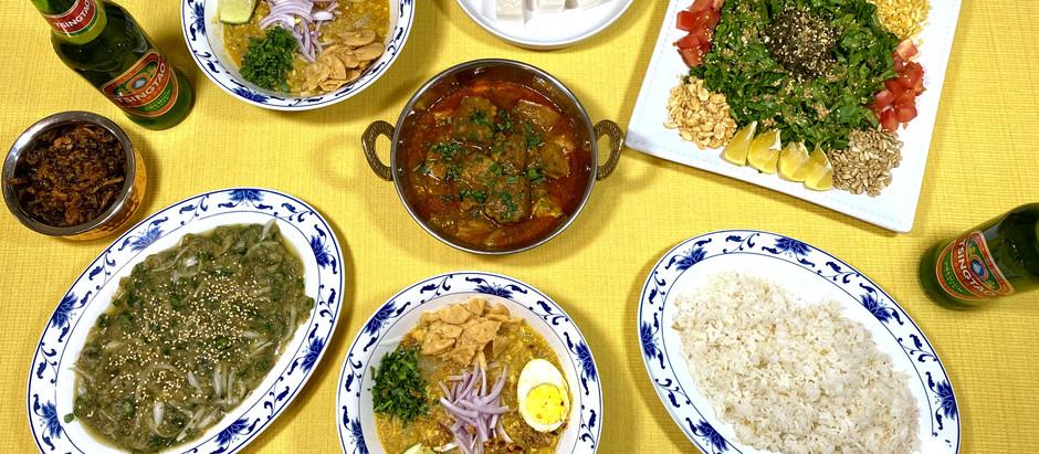 4.6.2021 Dinner in Yangon