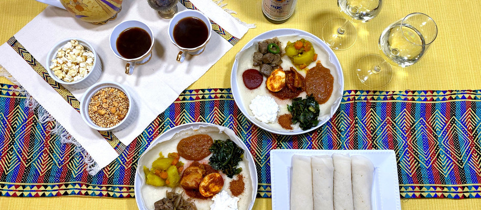 4.25.2021 Dinner in Addis Ababa