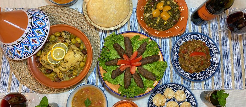 Dinner in Marrakech