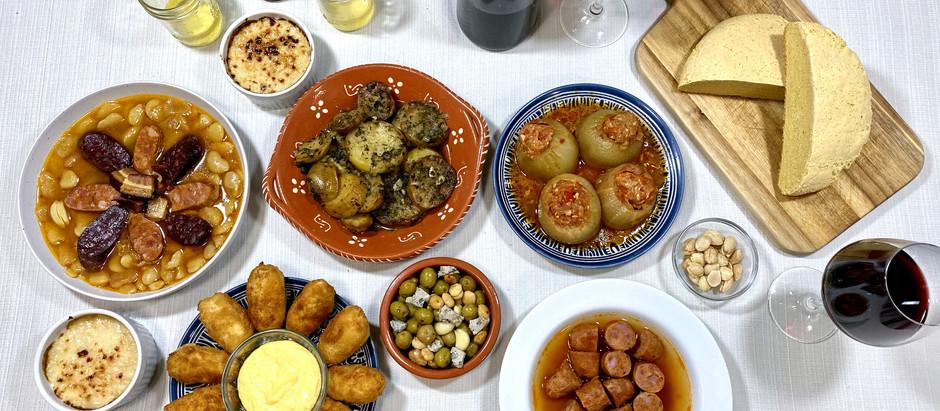 1.31.2021 Dinner in Asturias, Spain