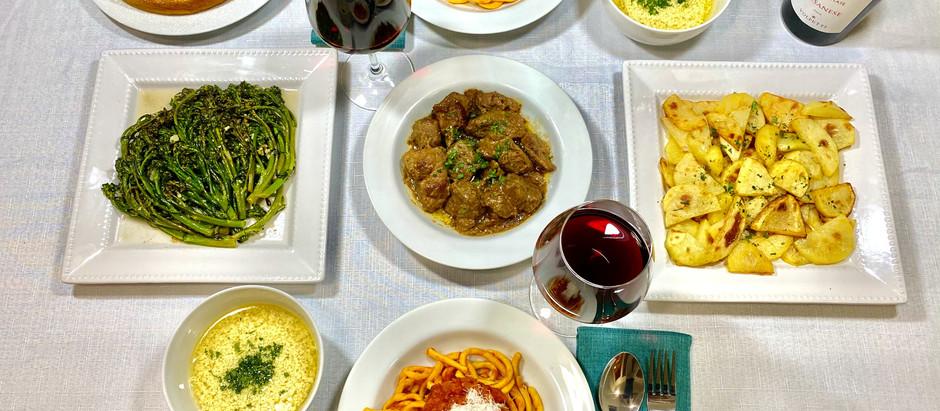 4.4.2021 Dinner in Rome