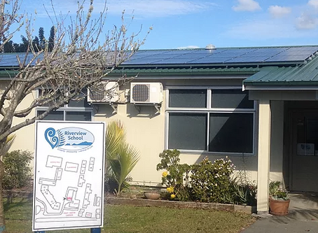 Solar Power Generation at Riverview School Kerikeri