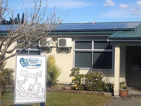 Solar Power Generation at Riverview School Kerikeri