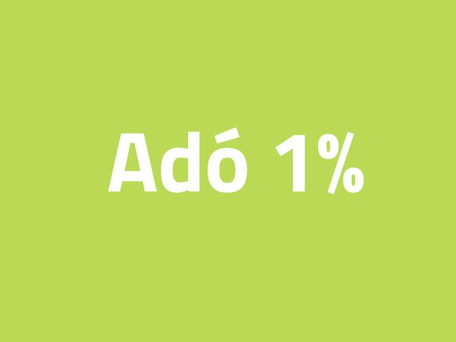 Adó 1% felajánlása