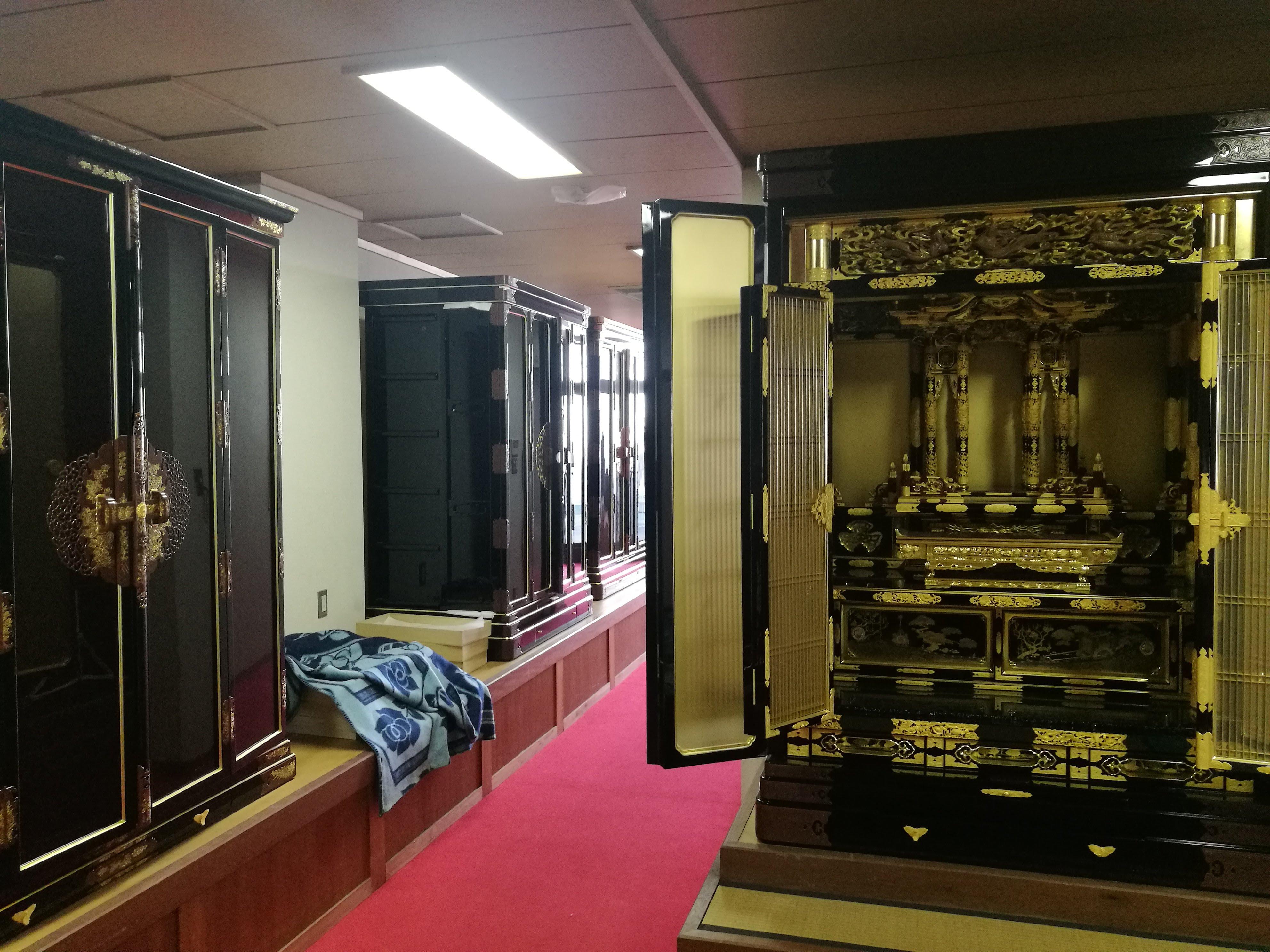 仏壇ショールーム