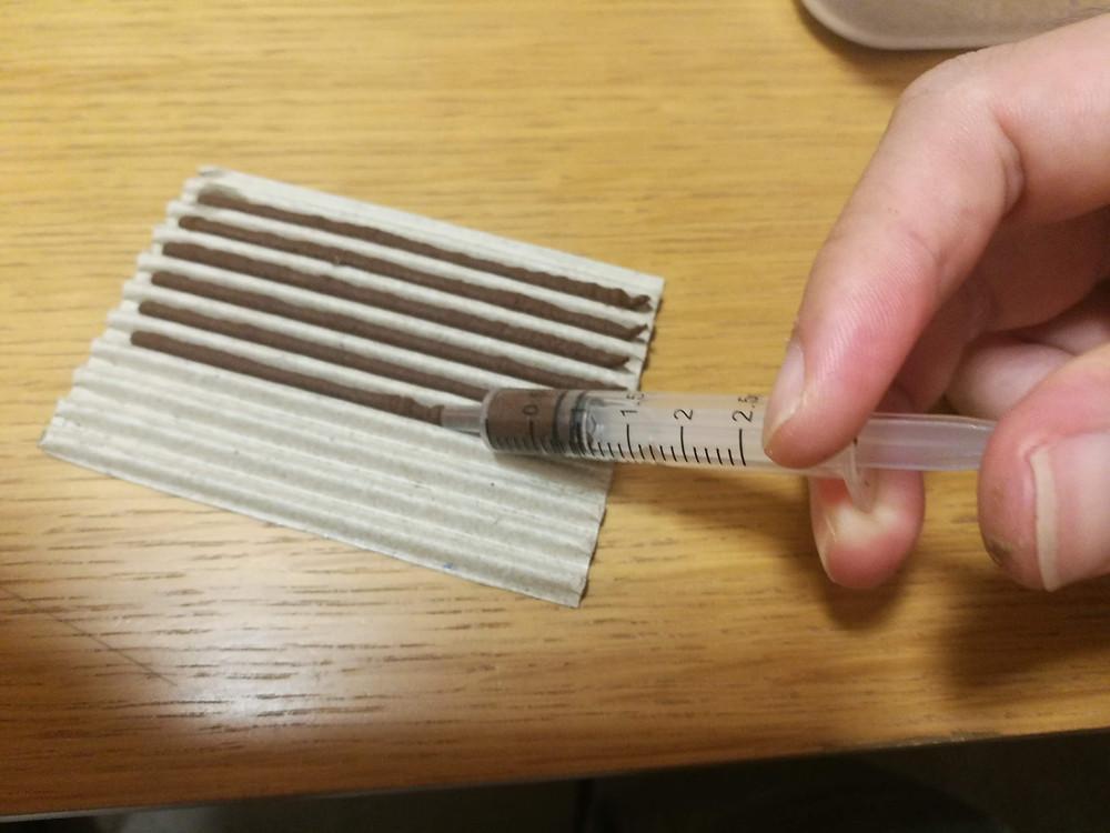 線香作り1