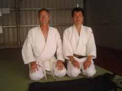 Japanese Visitor & Dominique.JPG