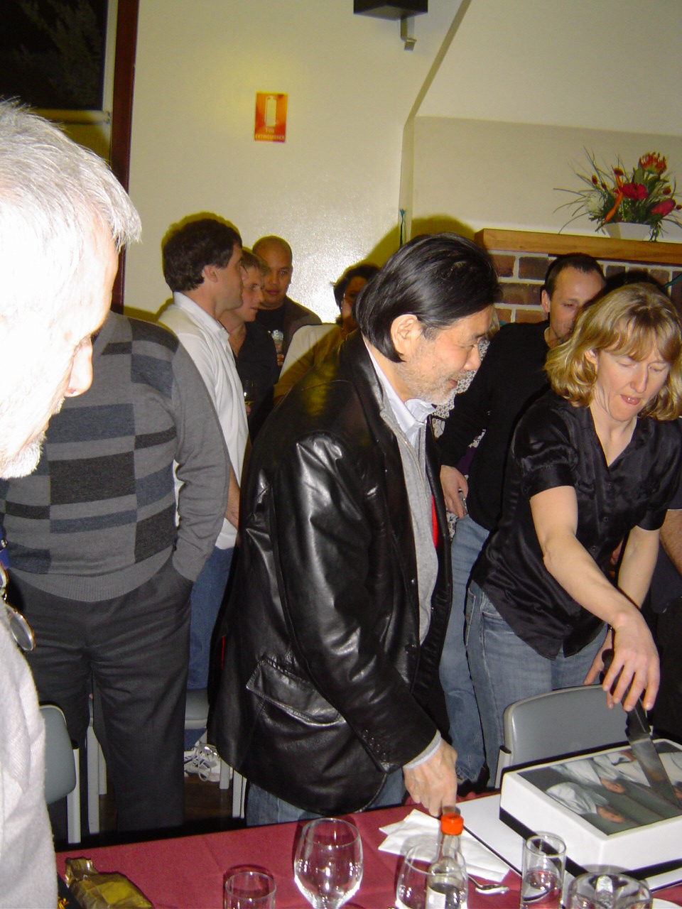 Sugano Sensei & Felicity Cutting the Cake.JPG