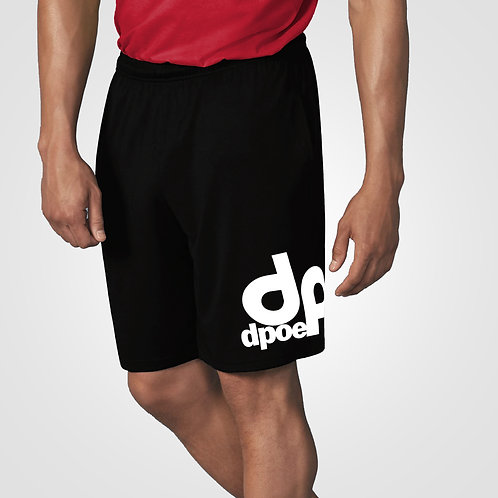 dpoe Black Basketball Shorts