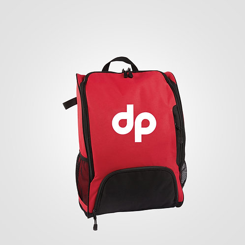dpoe Red Backpack Front View