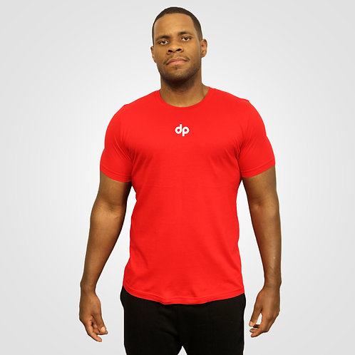 dpoe Red T-Shirt Front View