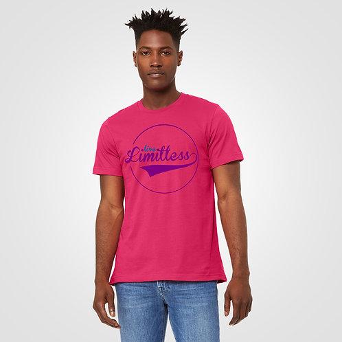 dpoe Fuchsia T-Shirt Front View