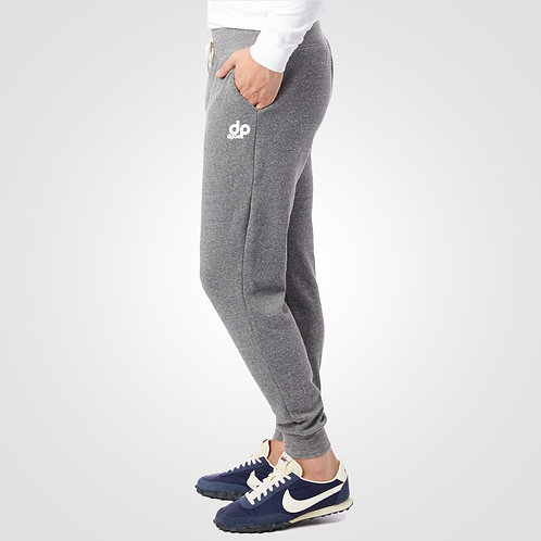 dpoe Eco Grey Joggers Pants Side View