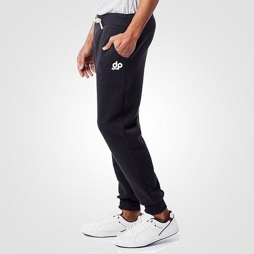 dpoe True Black Joggers Pants Side View