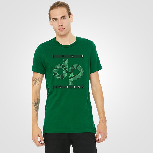 dpoe Forest Green T-Shirt Front View
