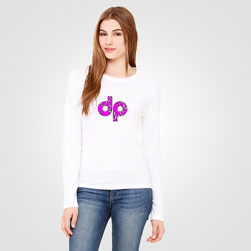 dpoe White Long Sleeve Front View