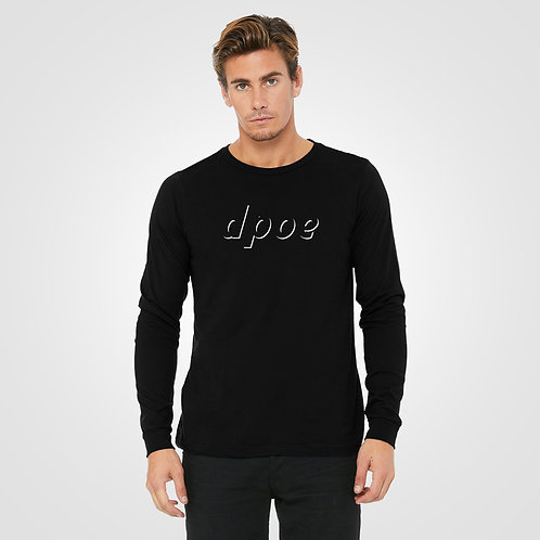 dpoe Black Long Sleeve Front View