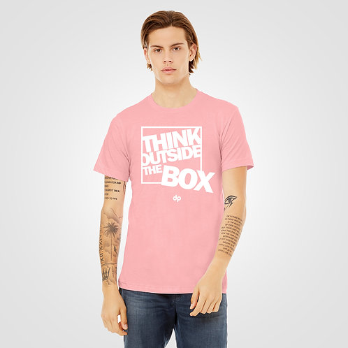 dpoe Pink T-Shirt Front View
