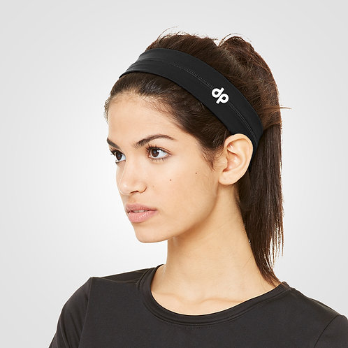 dpoe Black Headband Side View