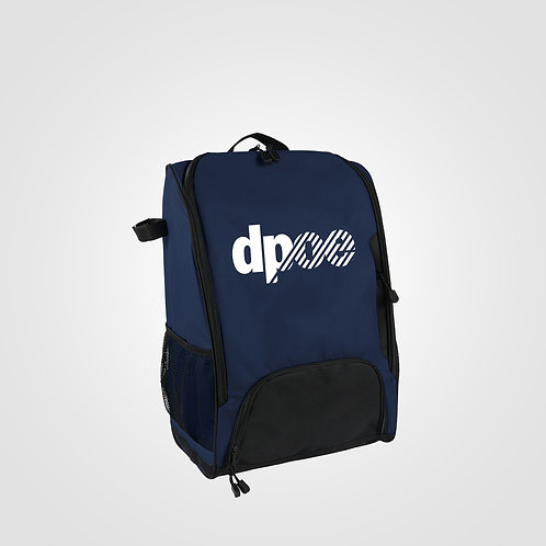 dpoe Navy Backpack Front View
