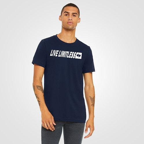 dpoe Navy T-Shirt Front View