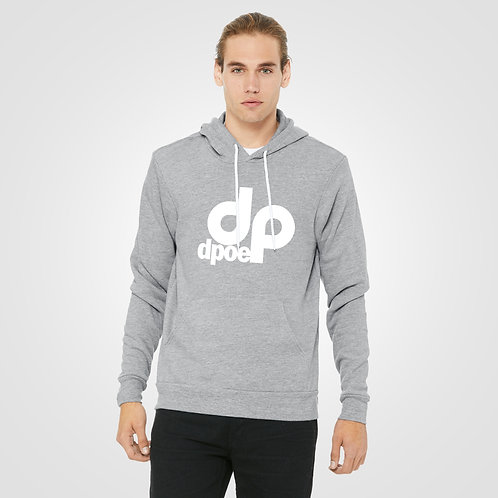 dpoe Athletic Heather Pullover Hoodie Front View