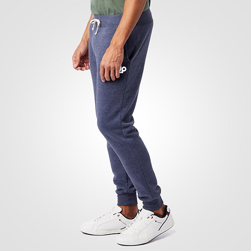 dpoe Eco True Navy Joggers Pants Side View