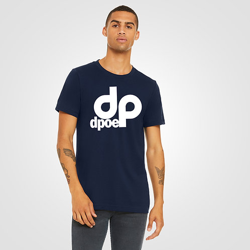 dpoe Navy T-Shirt Front View