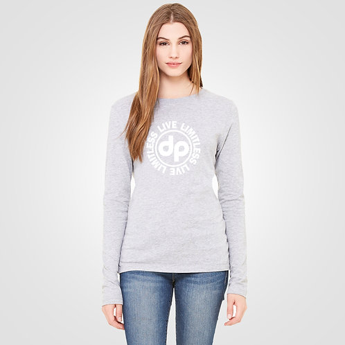 dpoe Athletic Heather Long Sleeve Front View
