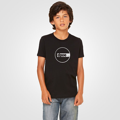dpoe Black Youth Boys Front View