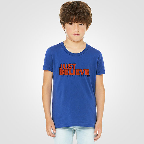 dpoe True Royal Youth Boys T-Shirt Front View