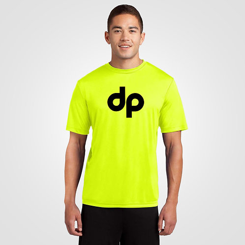 dpoe Safety Yellow Performance Shirt Front View