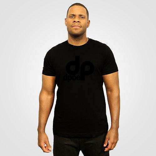 dpoe Black T-Shirt Front View