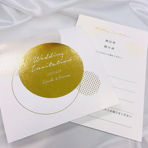 ラスター 招待状【印刷込】