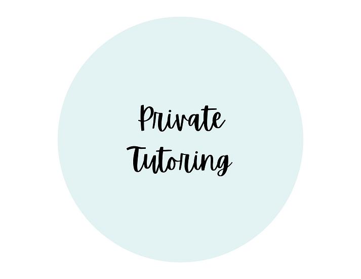Private Tutoring