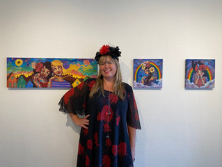 'BRIGHTER DAYS' SOLO SHOW OPENING