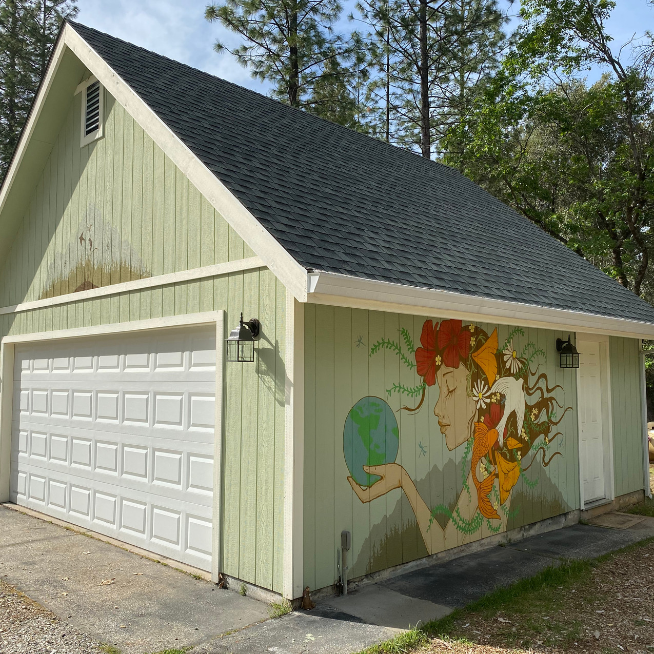 HOME stay-at-home mural festival