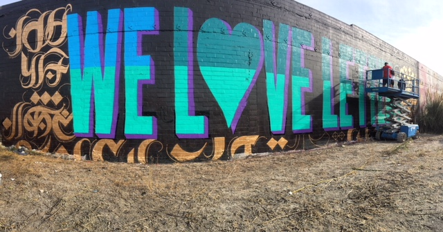We Love Letters, Oakland, 2016