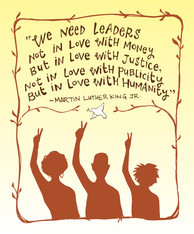 Martin Luther King Jr poster