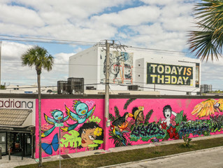 ART BASEL MURAL IN MIAMI